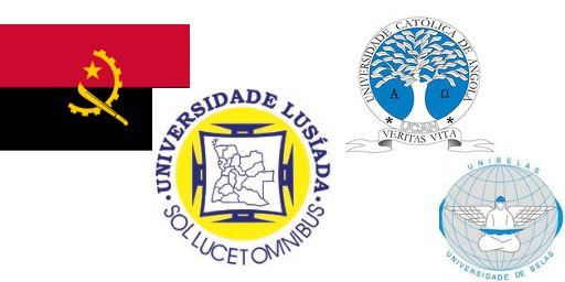 List of Universities in Angola, Accredited list of universities in Angola, Private and Public universities in Angola